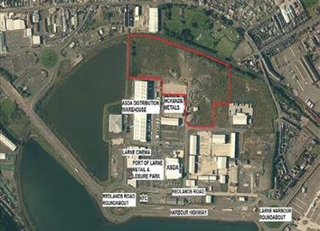 Thumbnail Land for sale in Port Of Larne Business Park, Redlands Road, Larne, County Antrim
