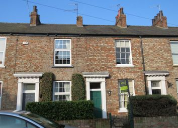 Thumbnail 2 bedroom terraced house to rent in Brownlow Street, York