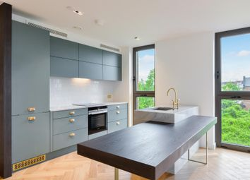 Thumbnail 2 bedroom flat to rent in Lessing Building, West Hampstead Square, London