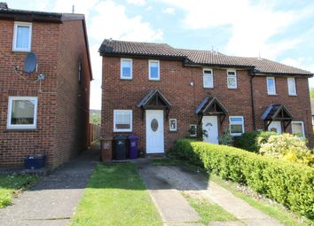 Thumbnail 2 bed end terrace house for sale in Byron Close, Hitchin