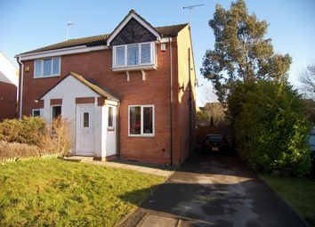 Thumbnail 2 bed semi-detached house to rent in Maple Drive, South Normanton, Alfreton, Derbyshire