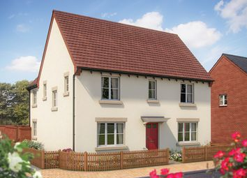 "Thumbnail 4 bed detached house for sale in ""The Luddington"" at Whitelands Way, Bicester"