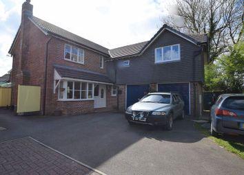 Thumbnail 5 bed detached house for sale in Chough Close, Launceston