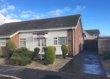 Thumbnail 2 bed semi-detached bungalow for sale in Hargrave Avenue, Needham Market, Ipswich
