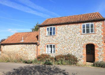 Thumbnail 3 bedroom cottage to rent in Back Street, South Creake, Fakenham