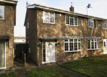 Thumbnail 3 bed semi-detached house for sale in Selina Close, Castle Donington, Derby