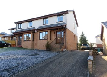 Thumbnail 3 bedroom semi-detached house for sale in Laurieston Crescent, Airdrie