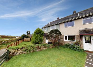 Thumbnail 3 bed terraced house for sale in Trewellard, Pendeen, Cornwall.