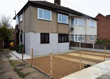 Thumbnail 2 bed flat for sale in Erith Crescent, Collier Row, Romford