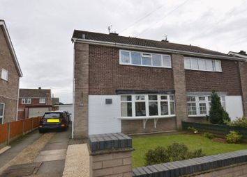 Thumbnail 3 bed semi-detached house for sale in Timberland, Bottesford, Scunthorpe