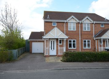 Thumbnail 3 bedroom semi-detached house to rent in Rolls Close, Yaxley, Peterborough