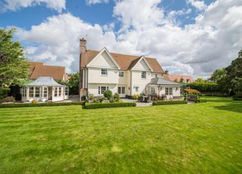 Thumbnail 5 bed detached house for sale in The Gardens, Norton, Bury St. Edmunds