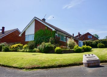 Thumbnail 3 bed detached bungalow for sale in Oakfield Park, Much Wenlock
