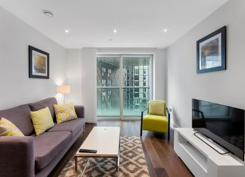 Thumbnail 1 bed flat for sale in Talisman Tower, Lincoln Plaza, Canary Wharf