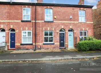 Thumbnail 2 bed terraced house for sale in Cross Street, Urmston, Trafford