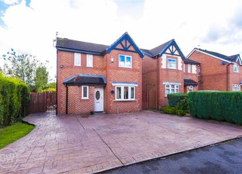 Thumbnail 3 bed detached house for sale in Calow Drive, Leigh, Lancashire