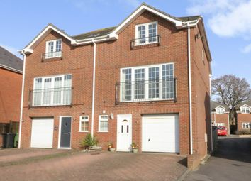 Thumbnail 3 bed town house for sale in Abbey Mews, New Road, Netley Abbey