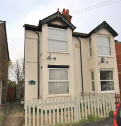 Thumbnail 1 bed flat to rent in Glebe Road, Egham, Surrey