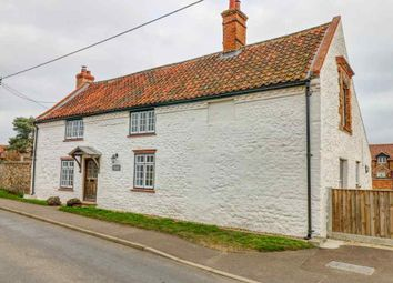 Thumbnail 4 bed farmhouse for sale in Chapel Road, Pott Row, King's Lynn