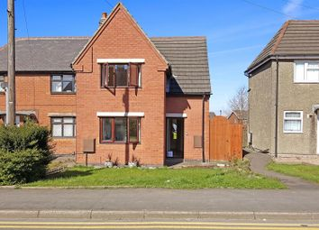 Thumbnail 3 bedroom semi-detached house for sale in George Street, Whitwick, Coalville