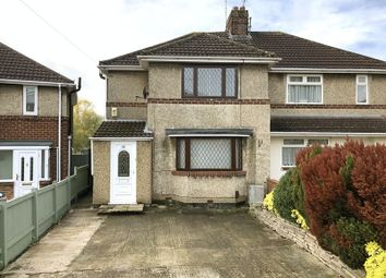 Thumbnail 3 bedroom semi-detached house for sale in Newburn Crescent, Swindon