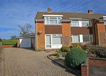 Thumbnail 3 bed semi-detached house for sale in Haglane Copse, Pennington, Lymington, Hampshire