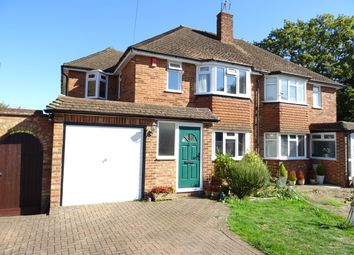 Thumbnail 3 bed semi-detached house for sale in Birch Close, New Haw