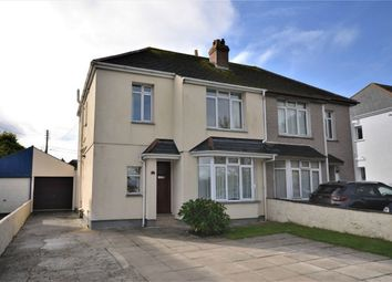 Thumbnail 3 bed semi-detached house for sale in Tresawls Road, Truro, Cornwall