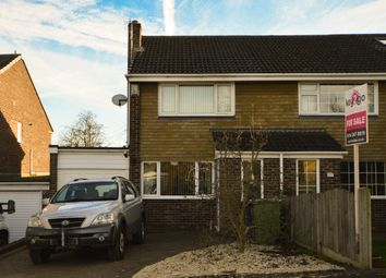 Thumbnail 2 bed semi-detached house for sale in Holly Close, Killamarsh, Sheffield