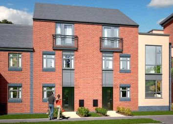 Thumbnail 4 bed town house for sale in The Dawlish - Plot 418, Johnsons Wharf, Leek Road, Hanley, Stoke On Trent