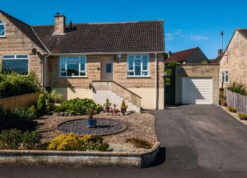 Thumbnail 2 bed semi-detached bungalow for sale in Holcombe Close, Bathampton, Bath