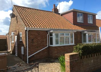 Thumbnail 1 bed semi-detached bungalow to rent in Mount Drive, Bridlington