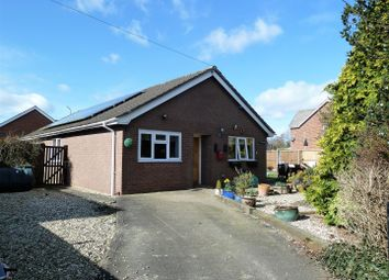 Thumbnail 3 bed detached bungalow for sale in Tanyfoel Drive, Llanymynech