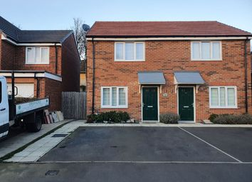 Thumbnail 2 bed semi-detached house for sale in Juniper Drive, Newcastle Upon Tyne