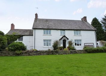 Thumbnail 4 bed farmhouse for sale in Llechryd, Cardigan