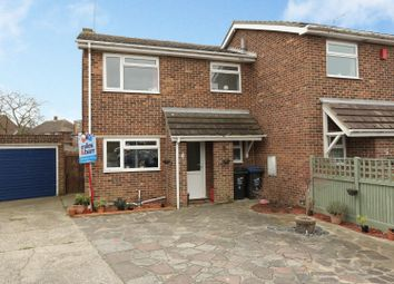 Thumbnail 3 bed semi-detached house for sale in Drapers Avenue, Margate