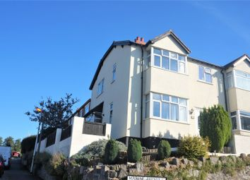 Thumbnail 3 bed semi-detached house for sale in Marine Avenue, Colwyn Bay