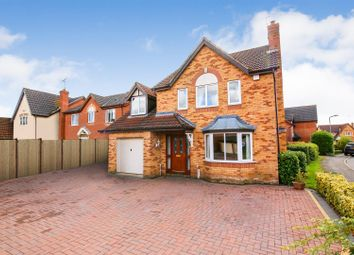 Thumbnail 4 bed detached house for sale in Rothley Drive, Avon Park, Rugby