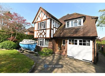 Thumbnail 4 bed detached house to rent in Epsom Road, Guildford