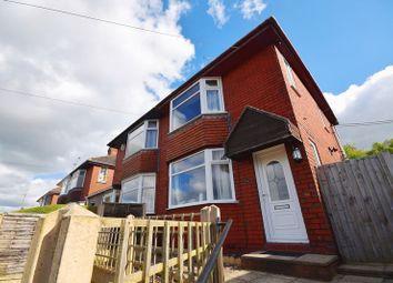 Thumbnail 2 bed semi-detached house for sale in Werrington Road, Bucknall, Stoke-On-Trent