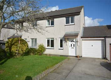 Thumbnail 3 bed semi-detached house for sale in Tremenheere Avenue, Helston