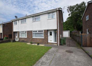 Thumbnail 3 bed semi-detached house for sale in Ffordd Yr Ywen, Tonteg, Pontypridd
