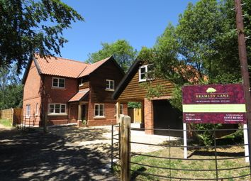 Thumbnail 4 bedroom detached house for sale in Bramley Lane, Griston, Thetford