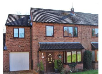 Thumbnail 4 bed semi-detached house for sale in West Hunsbury, Northampton