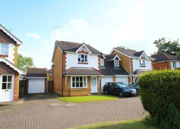 Thumbnail 3 bed detached house for sale in Curie Close, Rugby