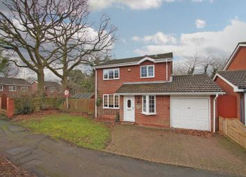 Thumbnail 4 bed detached house for sale in Cranham Close, Redditch