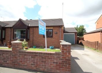 Thumbnail 2 bed semi-detached bungalow for sale in Weeland Court, Knottingley