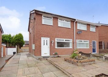 Thumbnail 3 bedroom semi-detached house for sale in Skye Close, Longton, Stoke-On-Trent