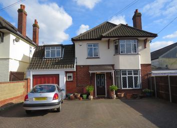 Thumbnail 4 bed detached house for sale in Friarscroft Lane, Wymondham