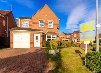 Thumbnail 3 bed detached house for sale in Juniper Close, Scunthorpe